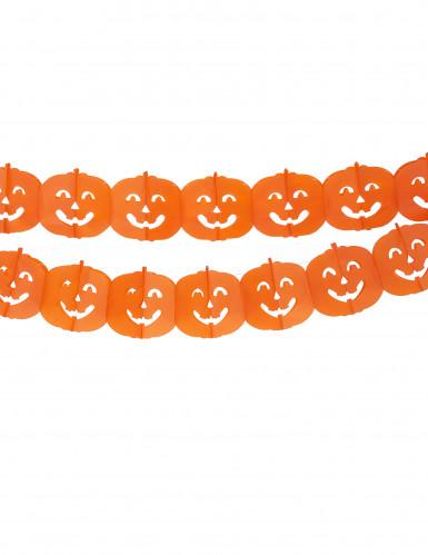 Guirnalda con calabazas ideal para Halloween