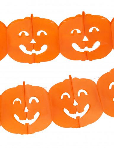 Guirnalda con calabazas ideal para Halloween-1