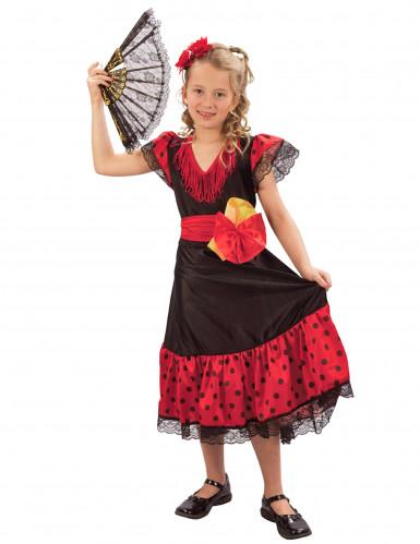 Disfraz de bailaora flamenca para niña