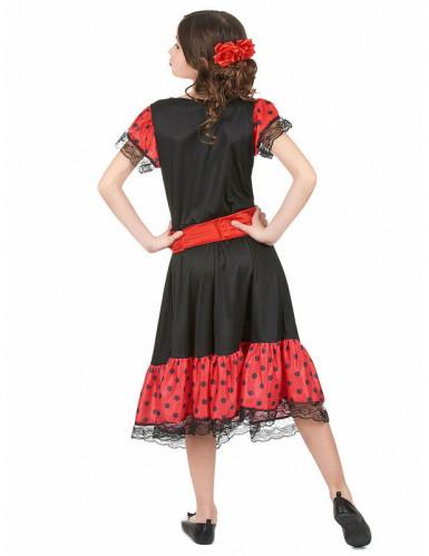Disfraz de bailaora flamenca para niña-1