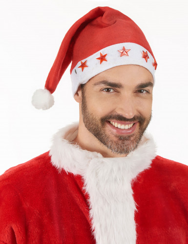 Gorro luminoso de Papá Noel-2