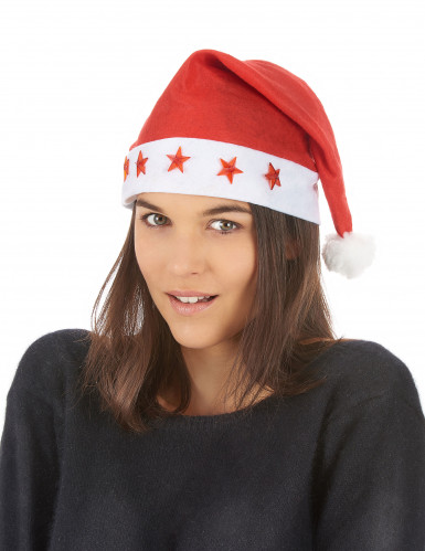 Gorro luminoso de Papá Noel-1