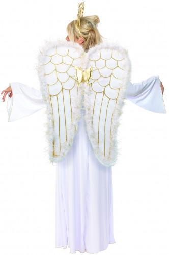 Disfraz de ángel de Navidad para mujer-1