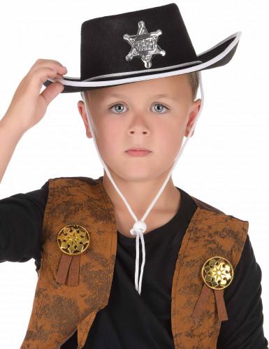Sombrero de vaquero para niño-1