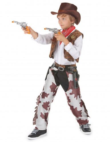 Disfraz de vaquero de lujo para niño-1