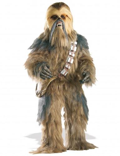 Disfraz oficial de Chewbacca para adulto ideal para coleccionistas