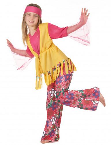 Disfraz de hippie para niña-1