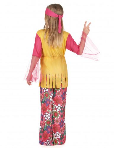 Disfraz de hippie para niña-2