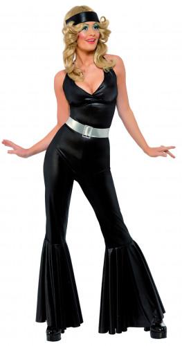 Disfraz de diva disco de los años 70 para mujer
