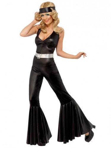 Disfraz de diva disco de los años 70 para mujer-1