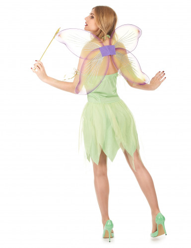 Disfraz de hada verde corset para mujer-2