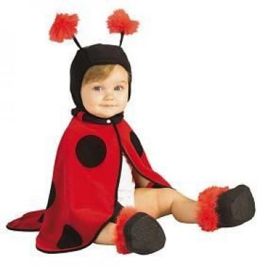 Disfraz de mariquita para bebé