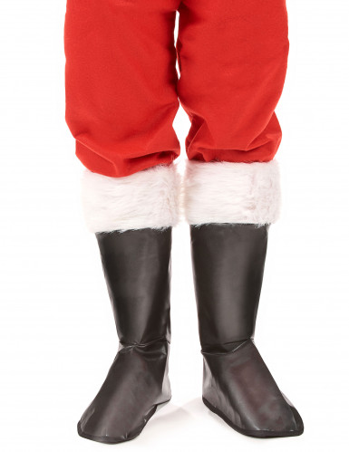 Cubre botas de Papá Noel-1