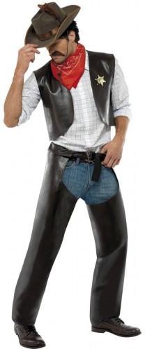 Disfraz del vaquero de los Village People® para hombre