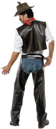 Disfraz del vaquero de los Village People® para hombre-1