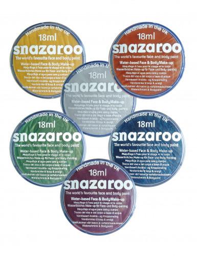 Maquillaje Metallic Snazaroo, bote de 18 ml
