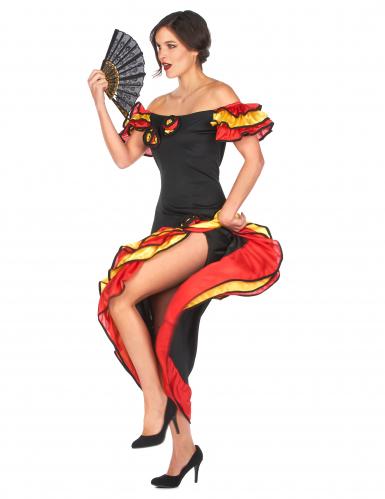 Disfraz de bailaora flamenca para mujer-1