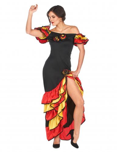 Disfraz de bailaora flamenca para mujer-2