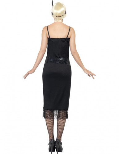 Disfraz de charlestón negro para mujer-1