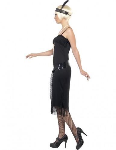 Disfraz de charlestón negro para mujer-2
