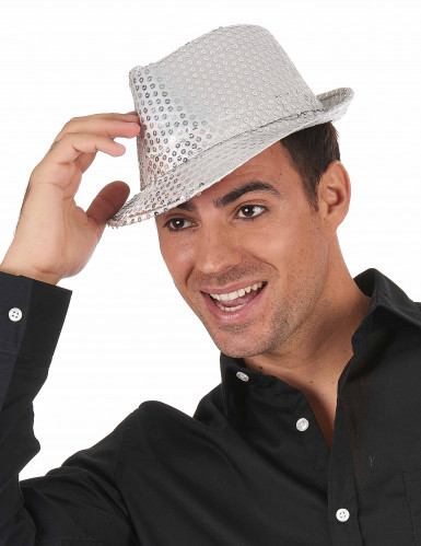 Sombrero con lentejuelas adulto-1