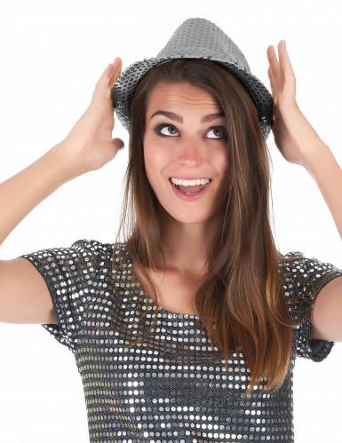 Sombrero con lentejuelas adulto-2