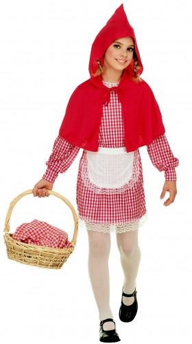 Disfraz de Caperucita del bosque para niña