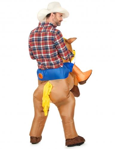 Disfraz de caballo inflable para adulto-2
