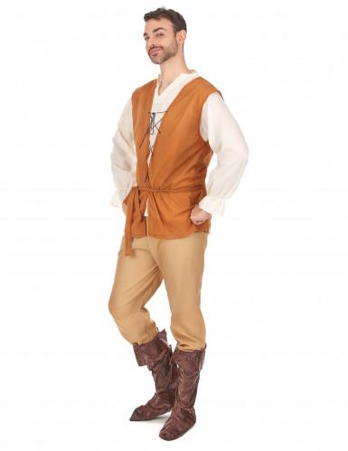 Disfraz medieval de campesino para hombre-1