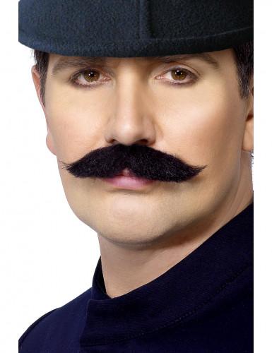 Bigote de policía inglés para hombre
