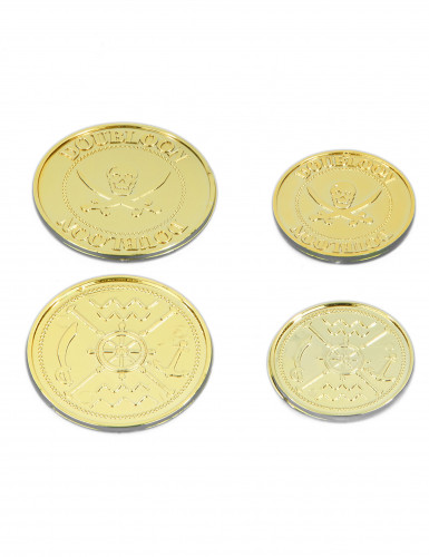 Monedas de tesoro pirata-1