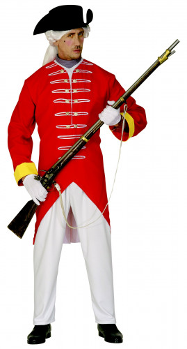 Disfraz de soldado francés para hombre