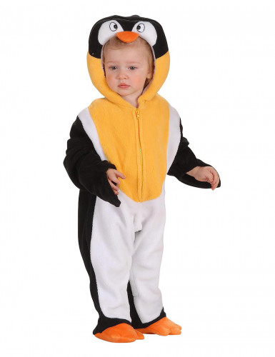Disfraz de pingüino para bebé