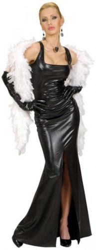 Vestido de gala sexy estilo cabaré para mujer