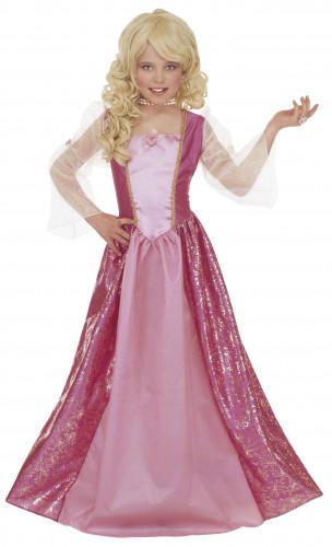 Disfraz de princesa Bárbara con glamour