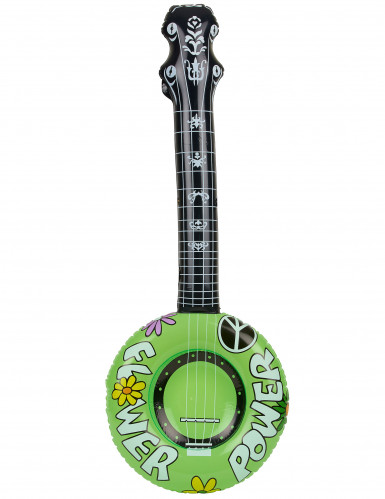 Banjo hippie inflable
