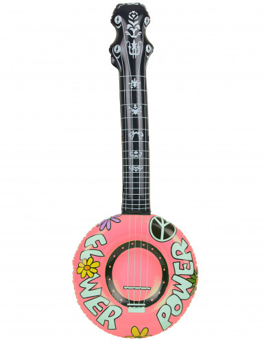 Banjo hippie inflable-2