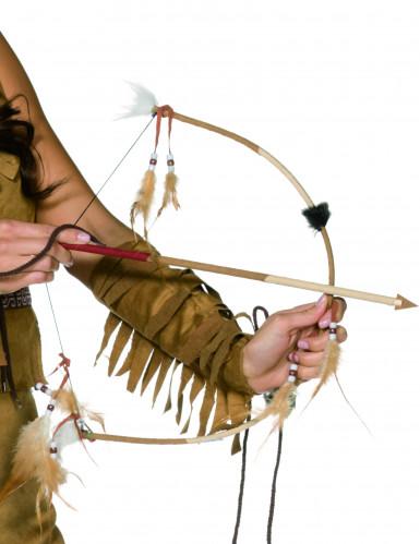 Arco de indio con flecha para niño