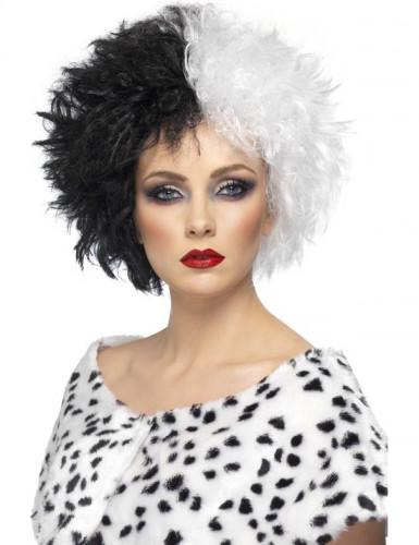 Peluca de mujer cruel, ideal para Halloween