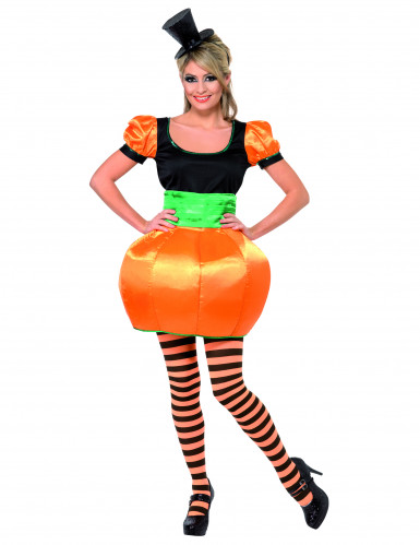 Disfraz de calabaza para mujer ideal para Halloween