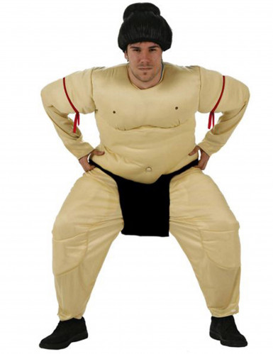 Disfraz de luchador de sumo para hombre