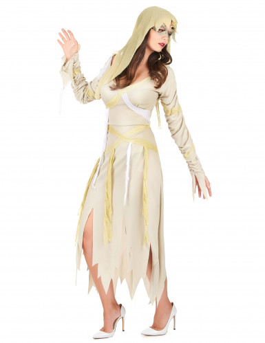 Disfraz de momia para mujer Halloween-1