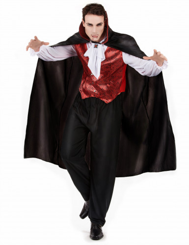 Disfraz de vampiro para hombre ideal para Halloween