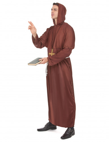 Disfraz de monje para hombre-1