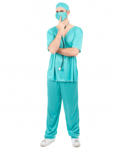 Disfraz de médico para hombre