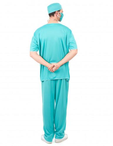 Disfraz de médico para hombre-2