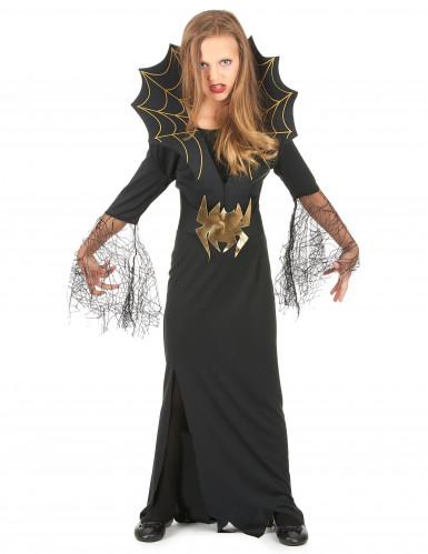Disfraz de reina de las arañas para niña ideal para Halloween