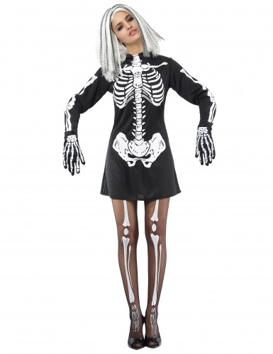 Disfraz de esqueleto para mujer ideal para Halloween