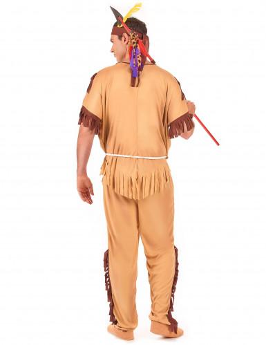 Disfraz de guerrero indio para hombre-2