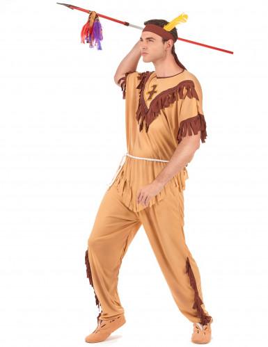 Disfraz de guerrero indio para hombre-1
